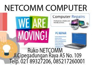 Lokasi NetCOMM Computer